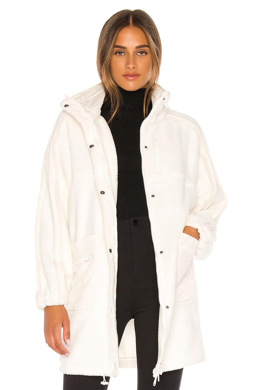Free People X FP Movement Glacier Fleece Jacket in Ivory