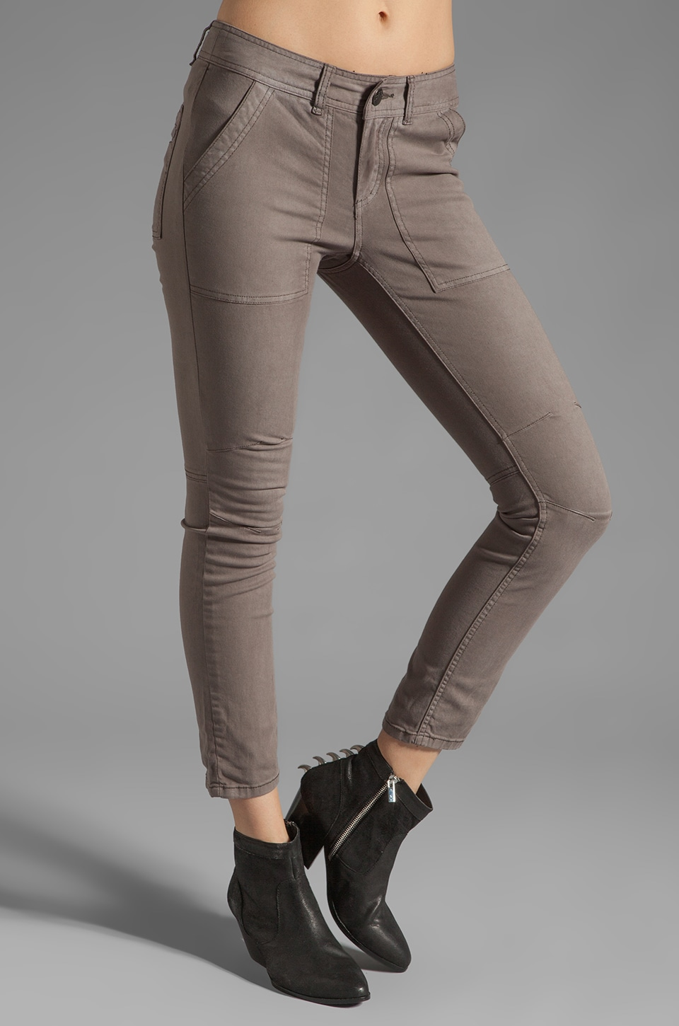 Free People Utility Pant in Olive