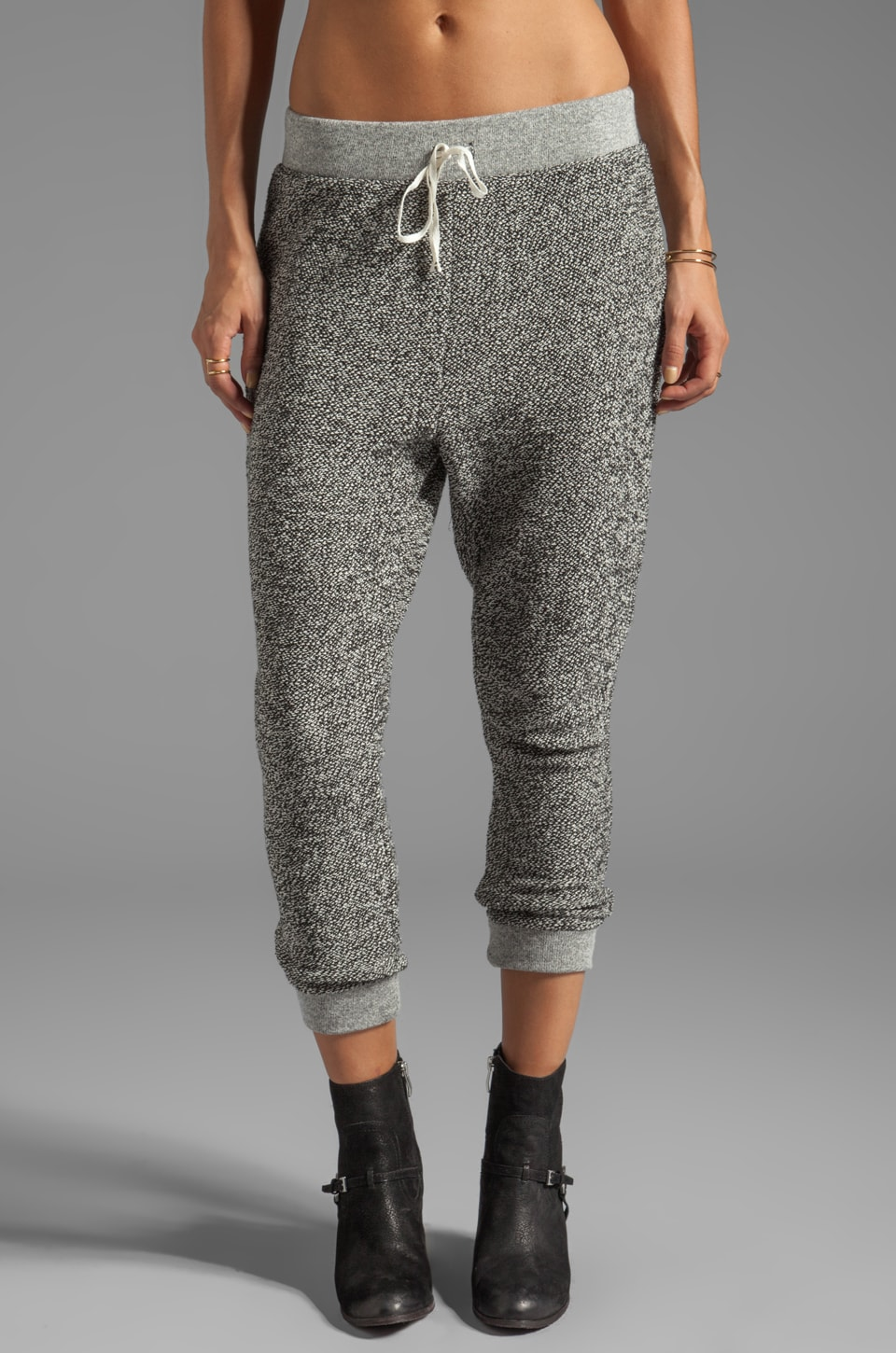 Free People Arda French Terry Pant in Grey