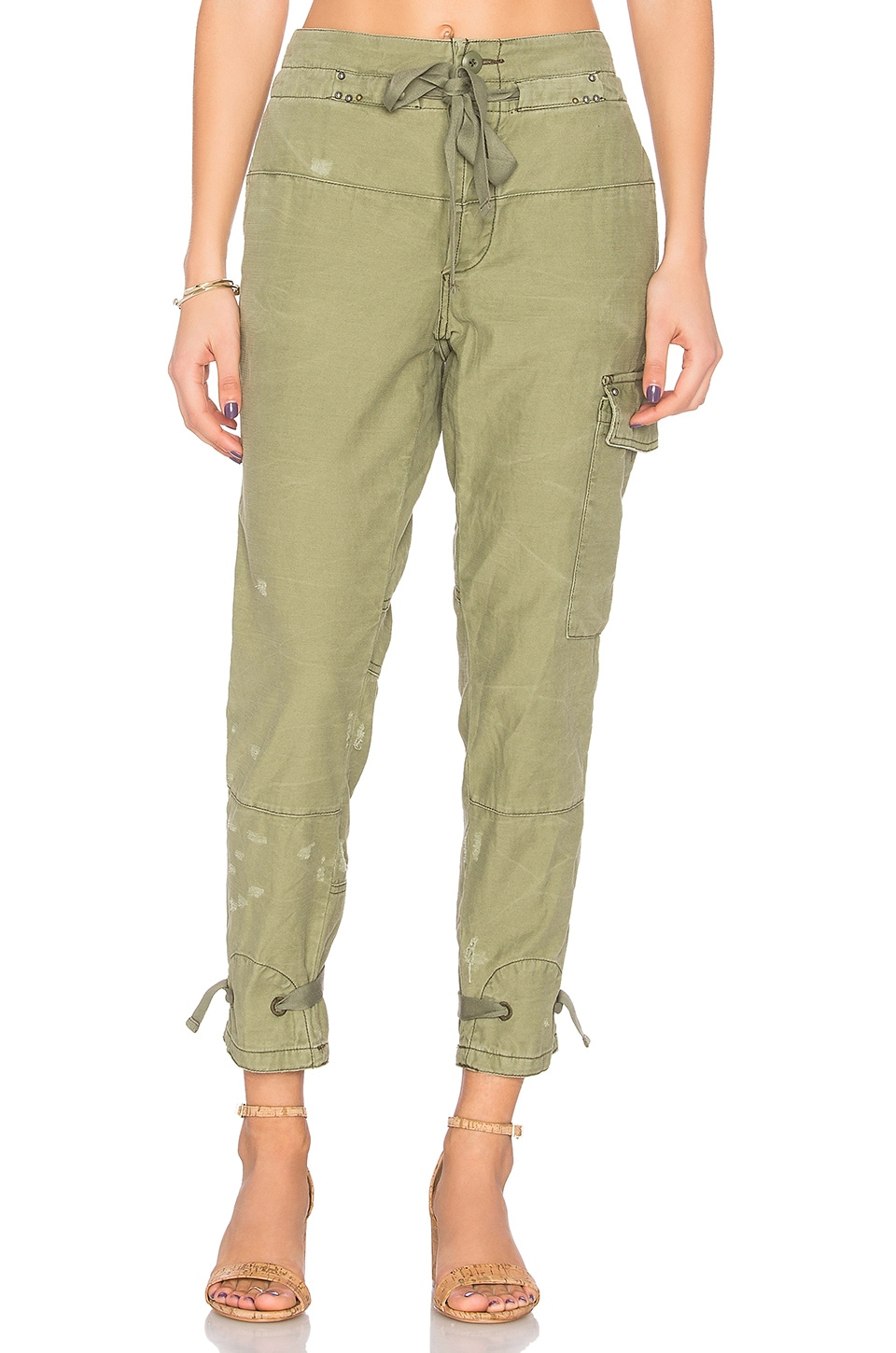 Don't Get Lost Soft Utility Pant by Free People