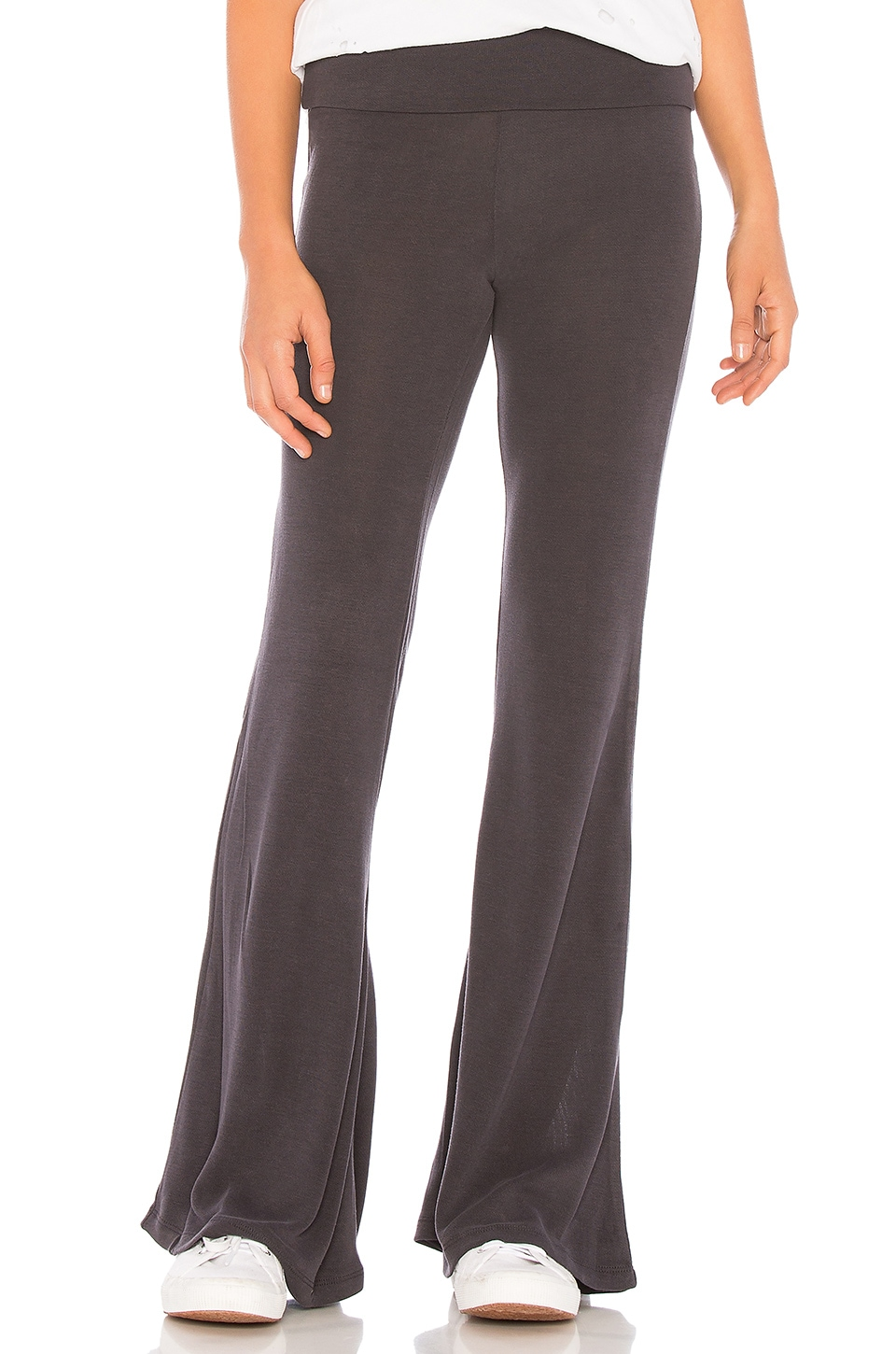 Free People X FP Movement Division Flare Pant in Black