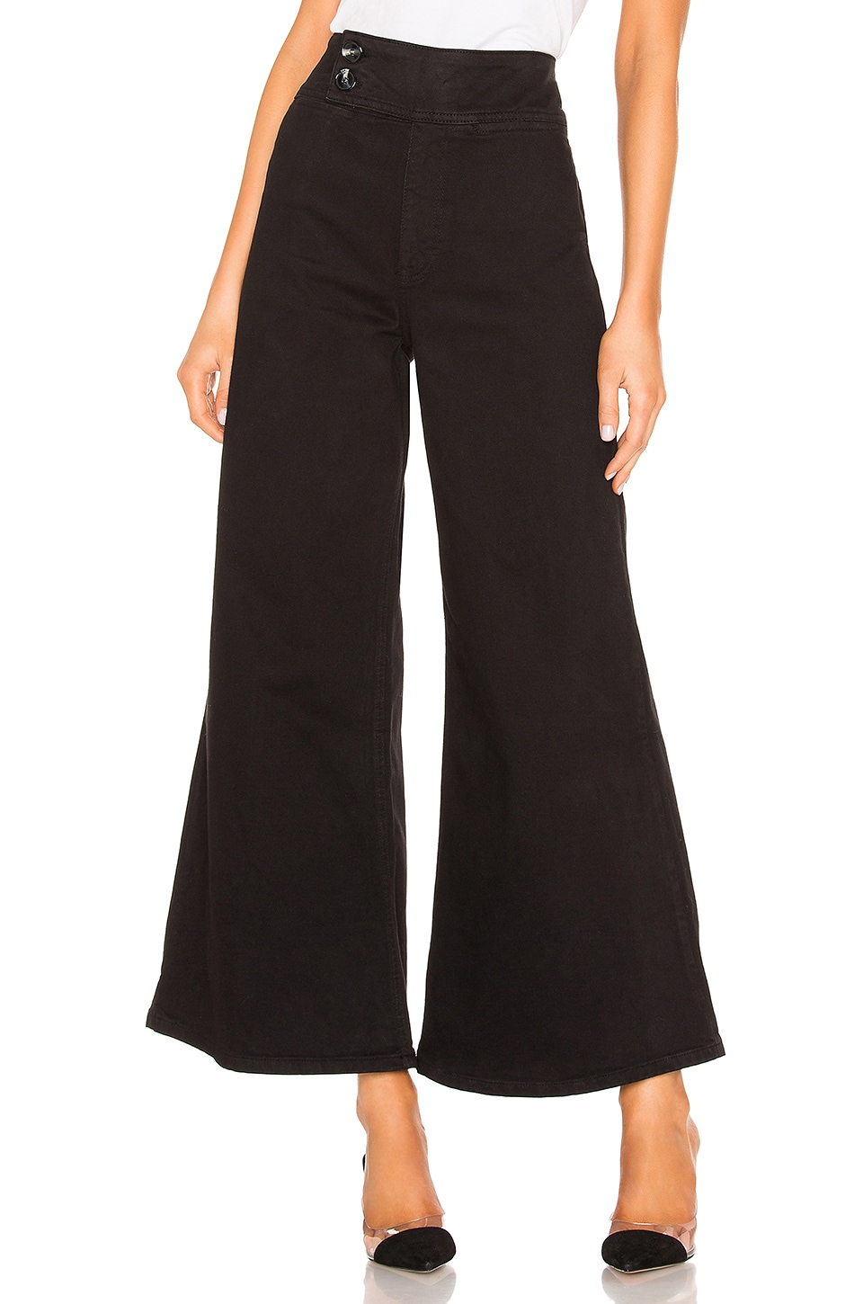 Free People БРЮКИ YOUTHQUAKE BELL BOTTOM