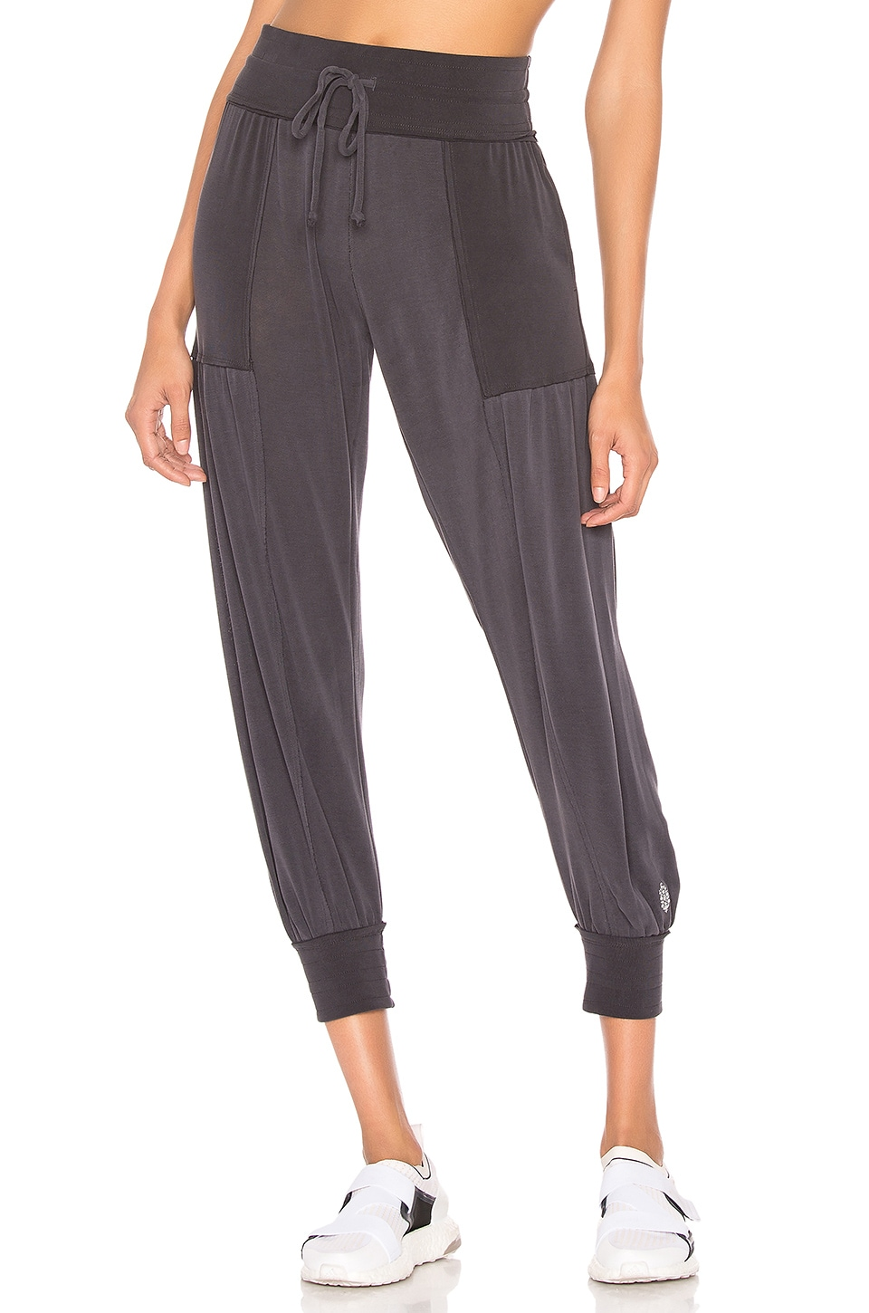 Free People Movement Aries Jogger in Black