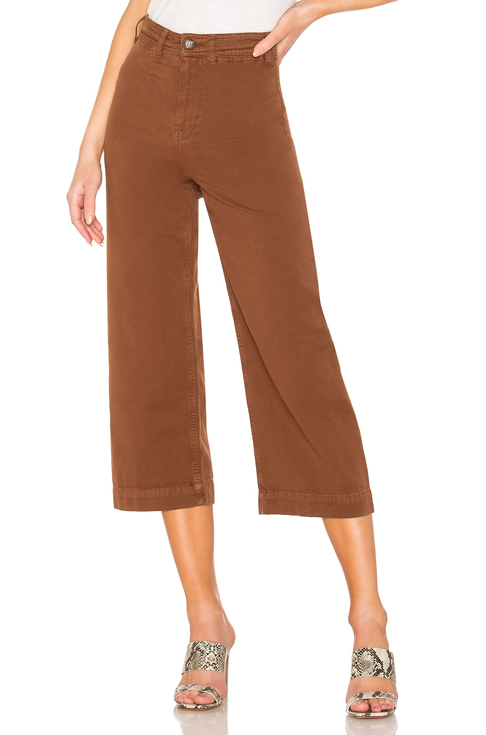 Free People Pants FREE PEOPLE PATTI PANT IN CHOCOLATE.
