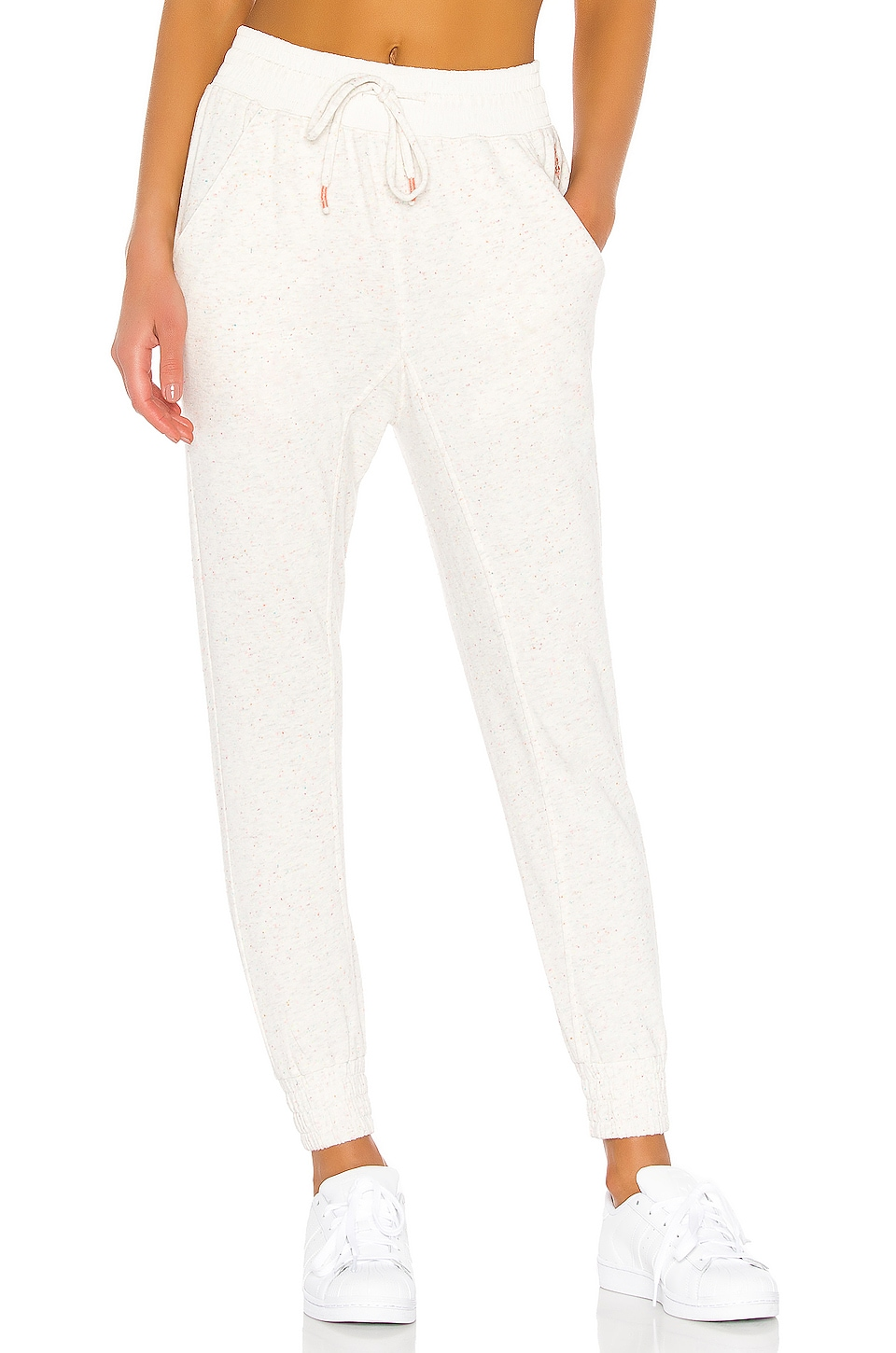 Free People X FP Movement Kick It Up Jogger in Ivory