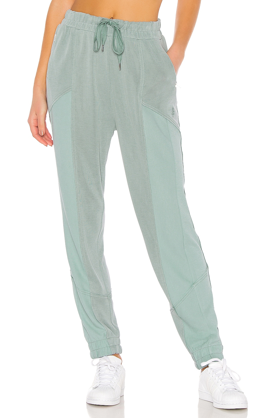 Free People Movement Trekking Out Jogger in Light Green