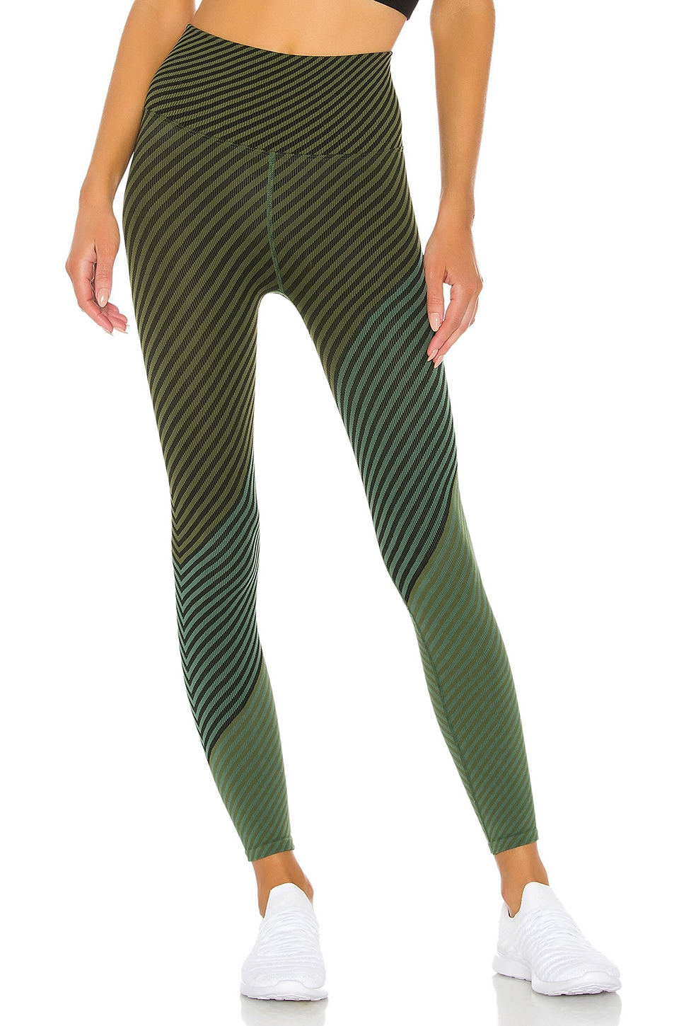 Free People X FP Movement Finders Keepers Legging in Green Combo