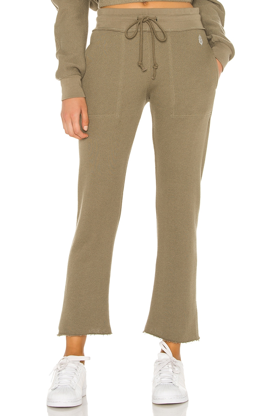 Free People X FP Movement Reyes Sweat Pant in Army