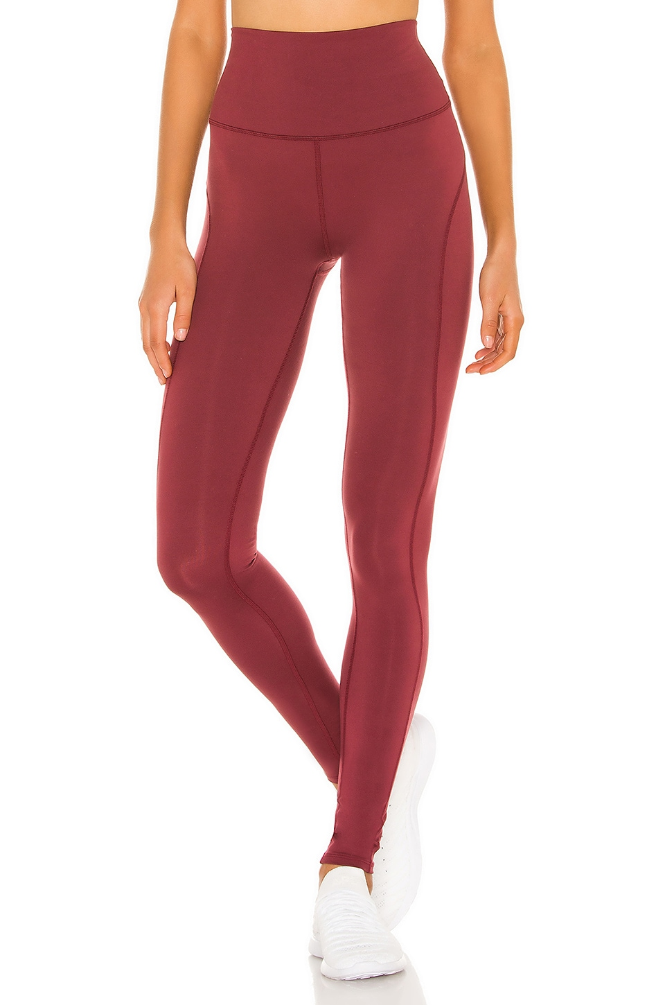 Free People X FP Movement Good Times Legging in Wine