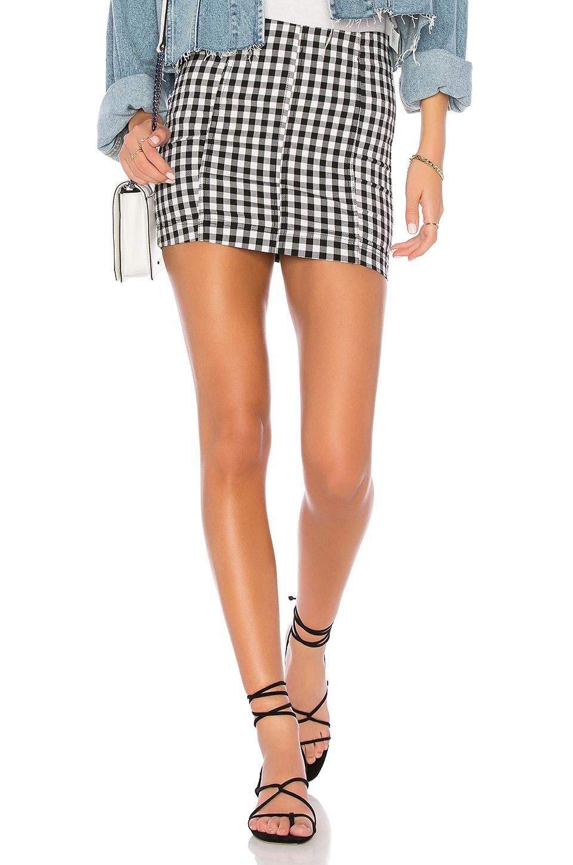Free People Modern Femme Novelty Skirt in Multi