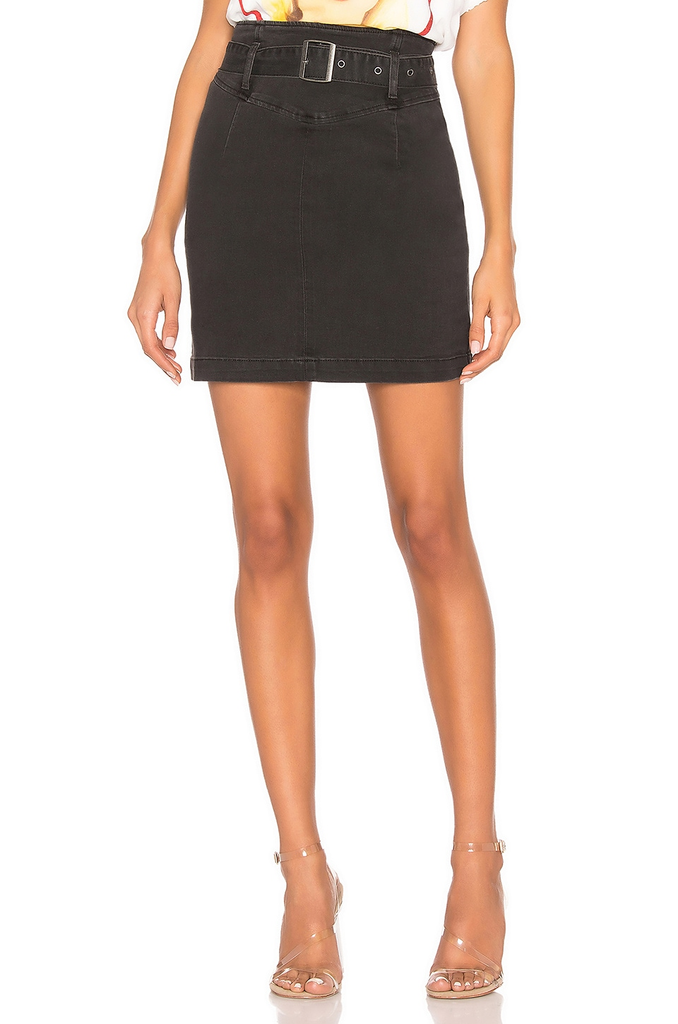 Free People Livin It Up Pencil Skirt in Black