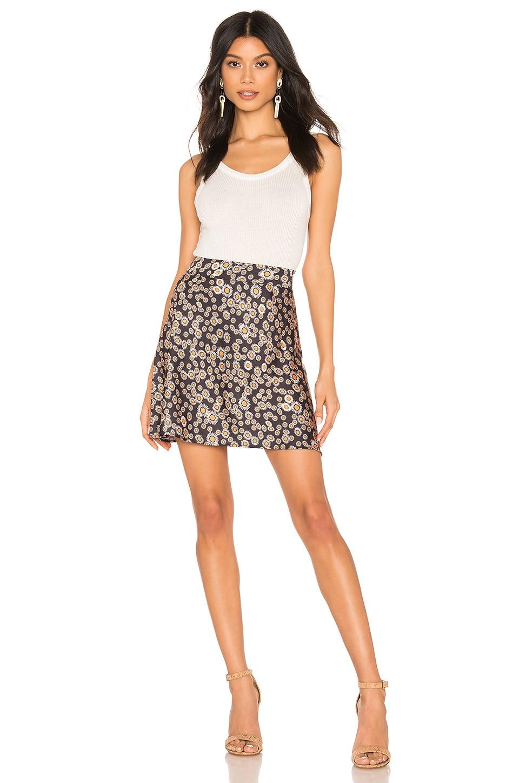 Free People Skirts Phoebe Printed Mini Skirt