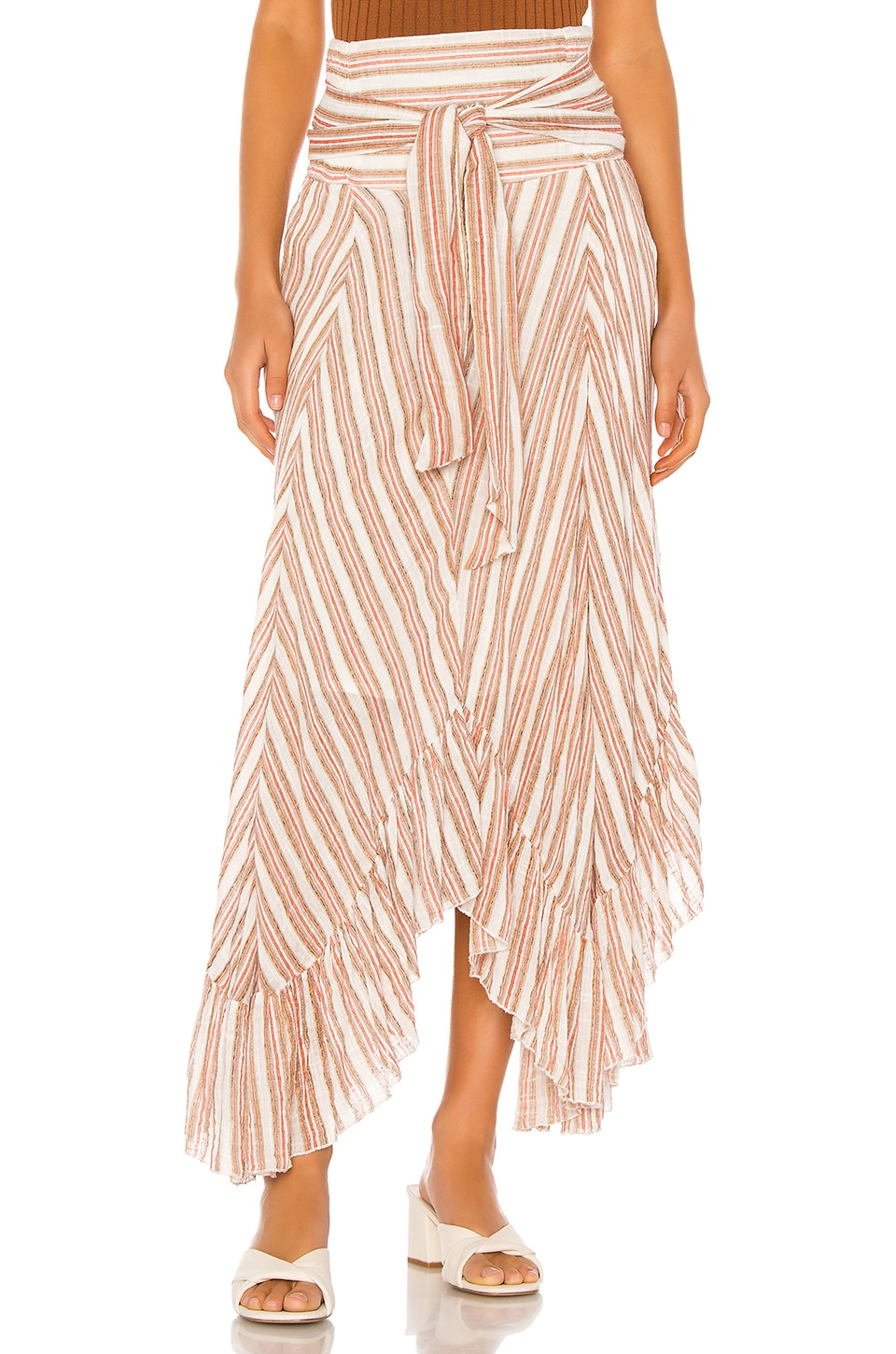 Free People Giselle Skirt in Ivory
