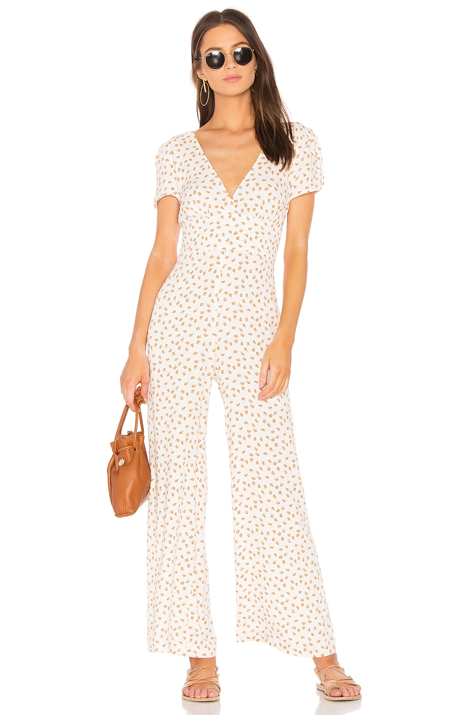 Mia Short Sleeve Jumpsuit by Free People
