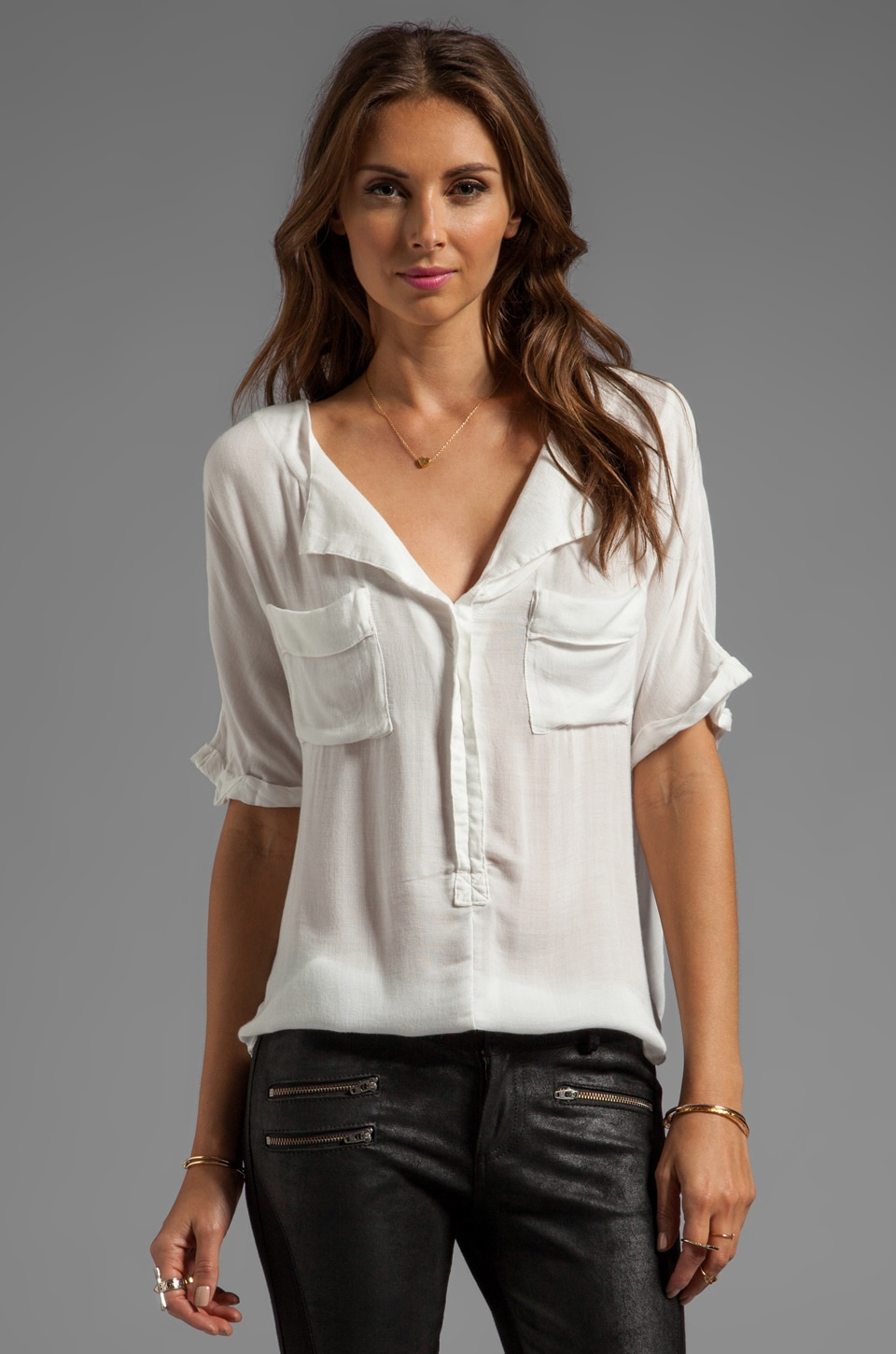 Free People American Pie Top in White