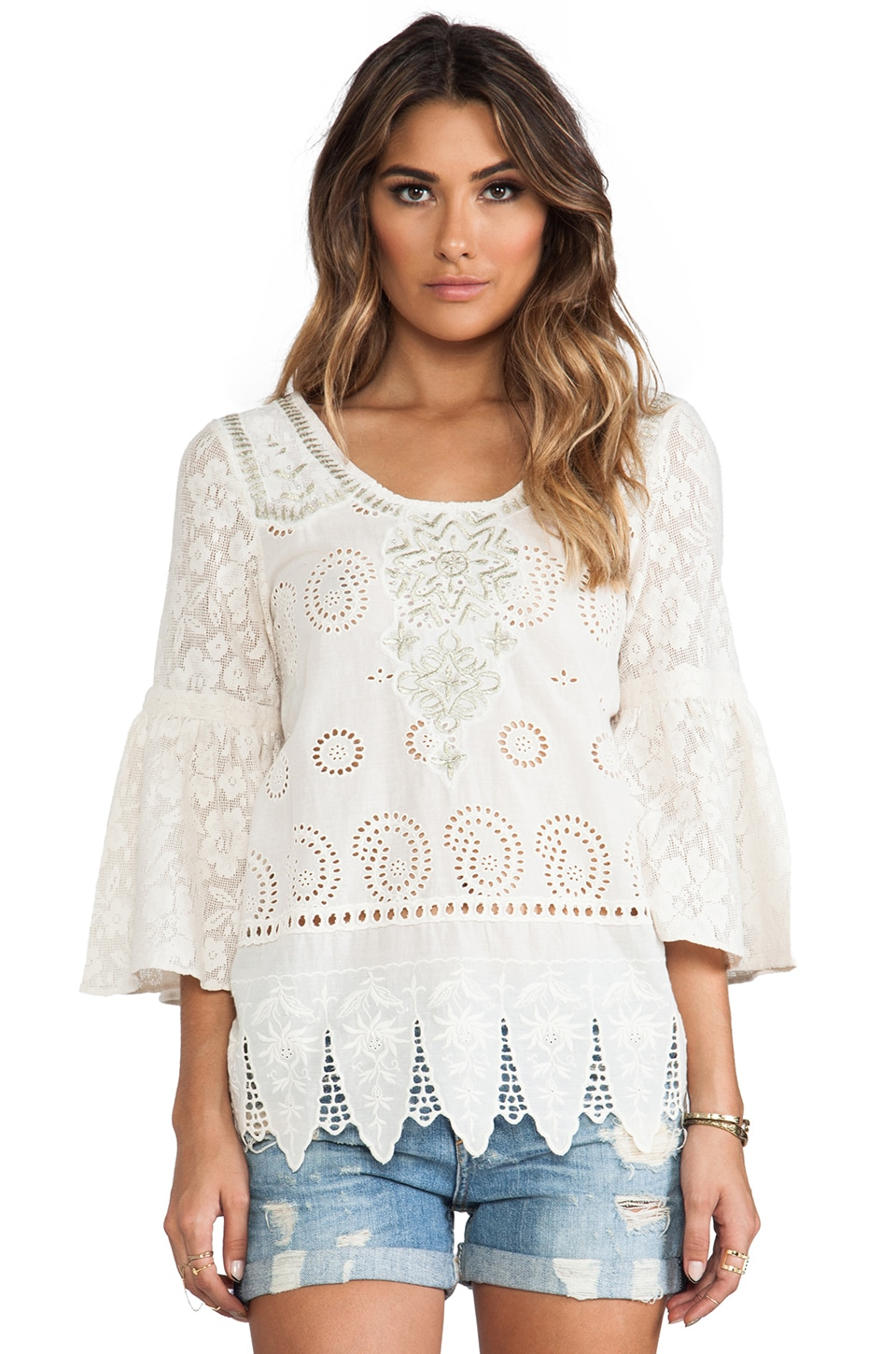 Free People Lolita Tunic in Ivory