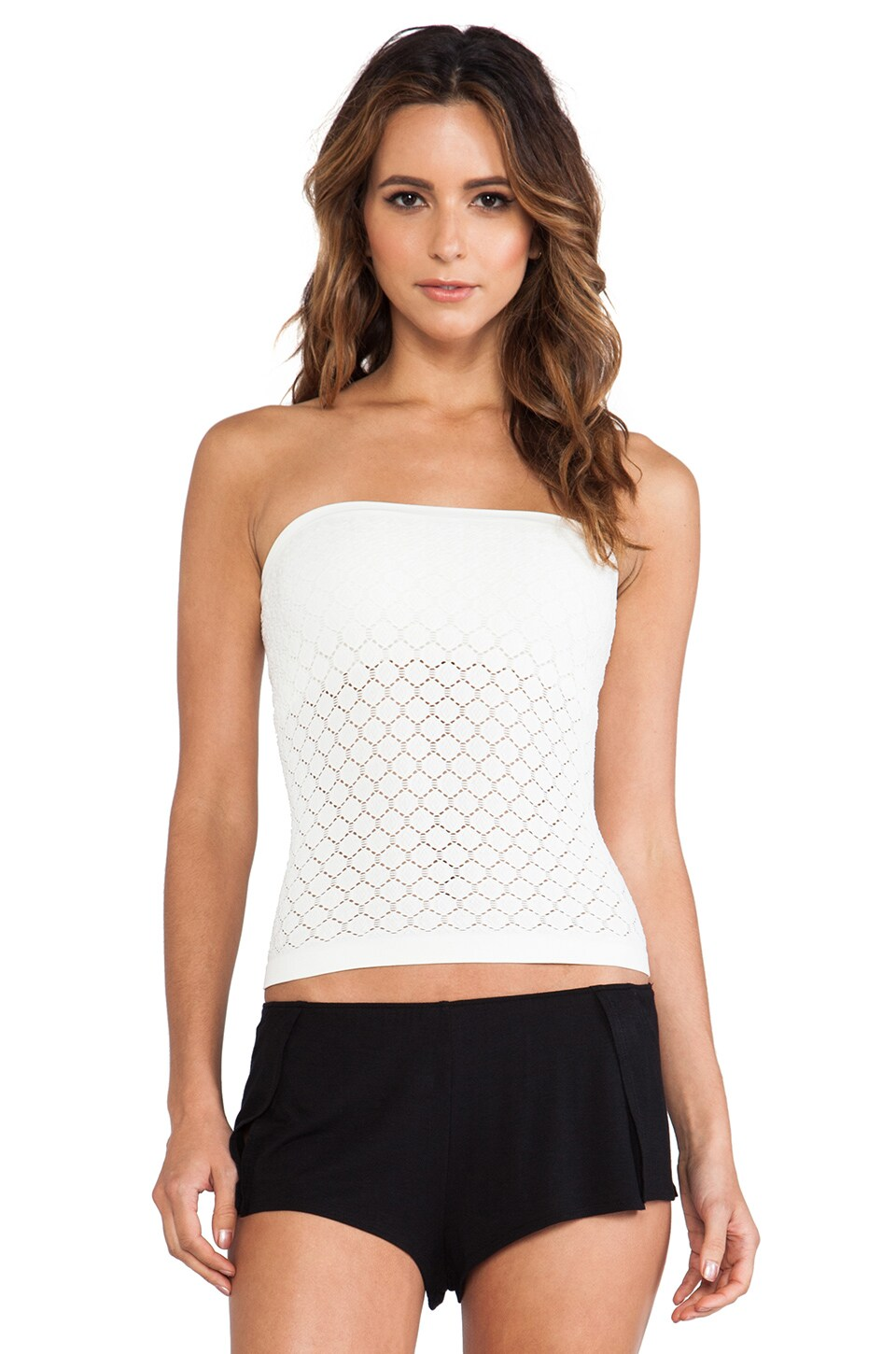 Free People Seamless Tube Top in Ivory