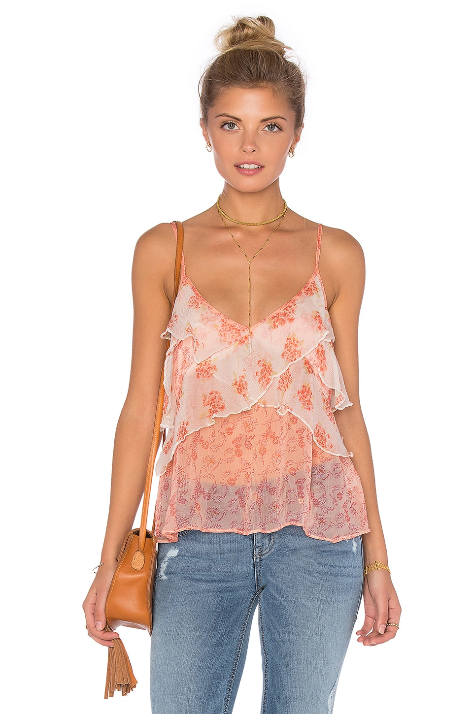 Free People All Things Tank in Ivory