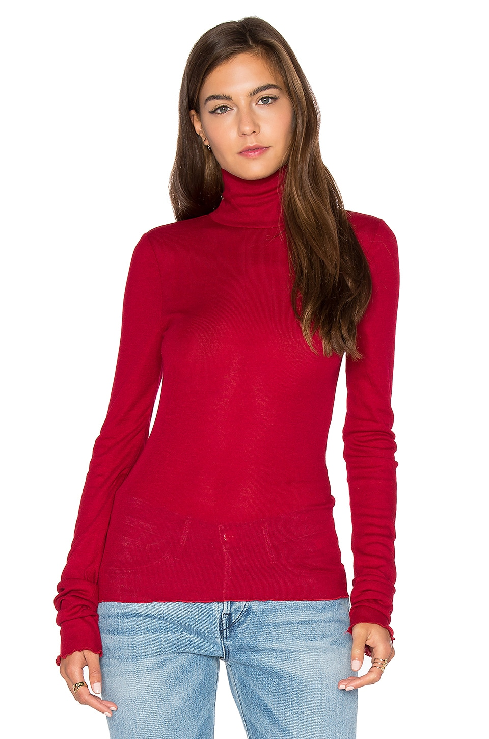 Free People Modern Cuff Layering Top in Red