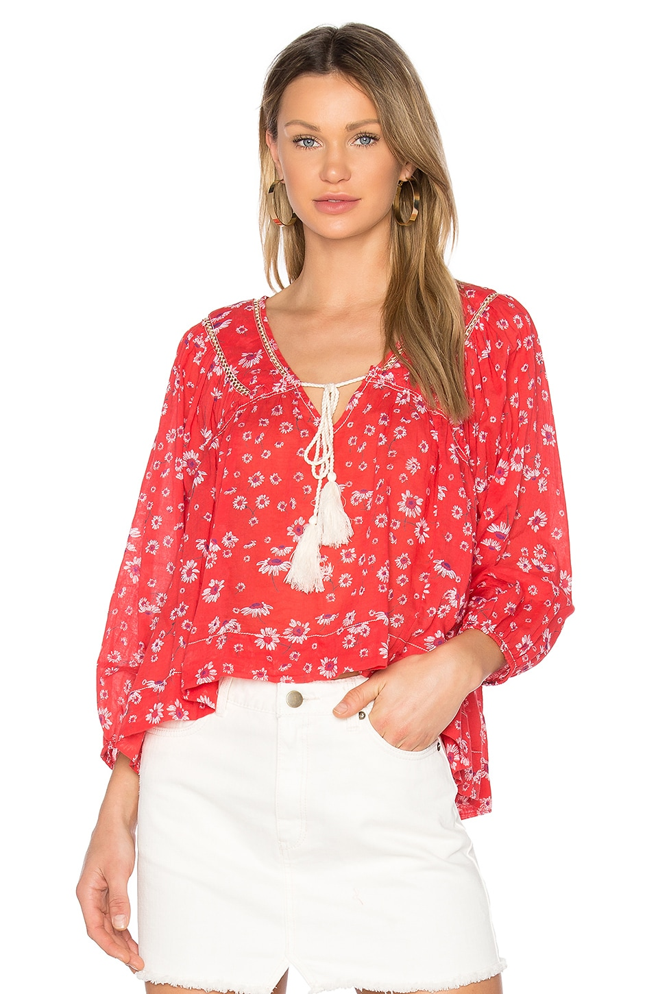Never a Dull Moment Blouse by Free People