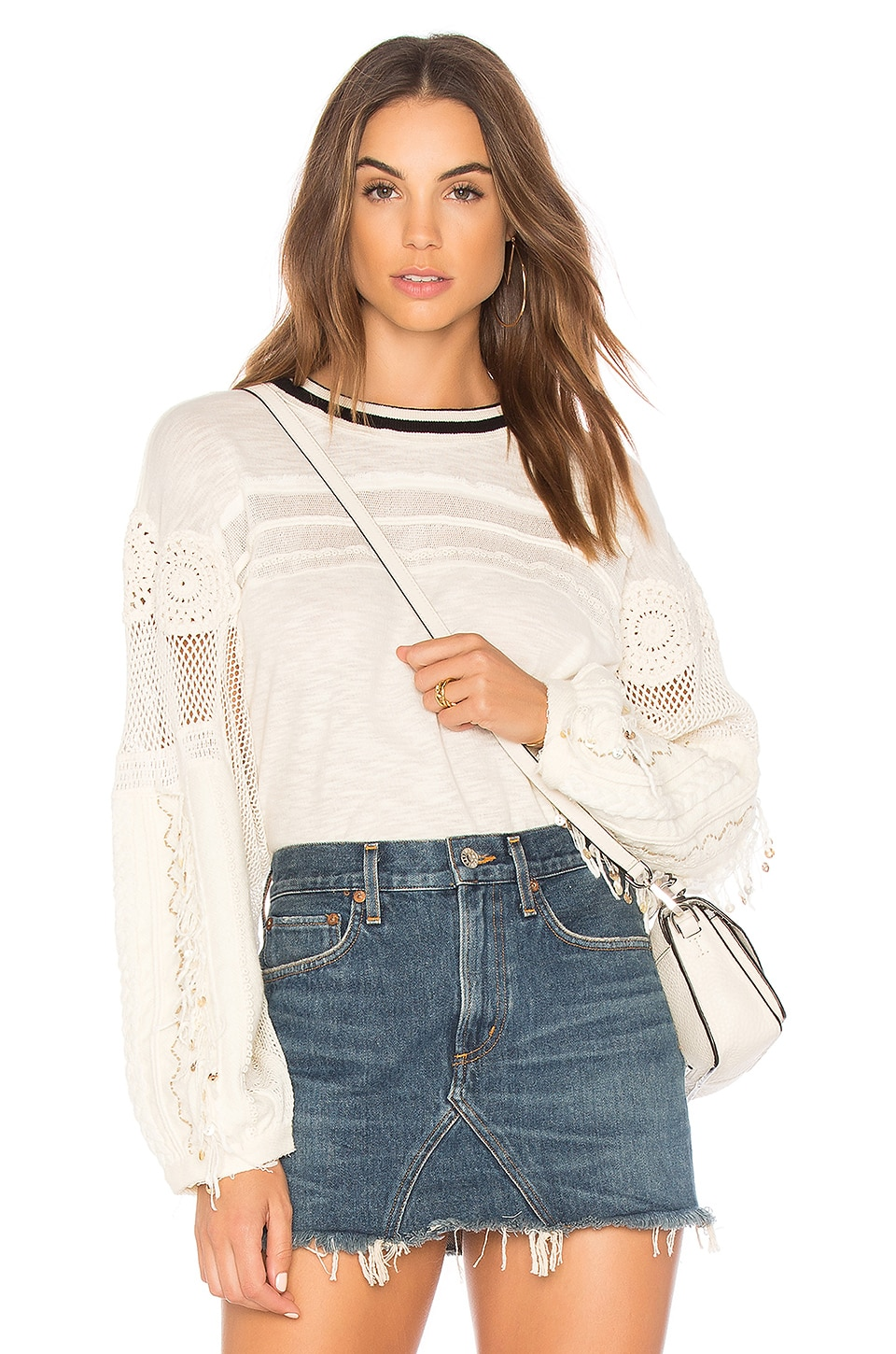 Free People Marakesh Top in Ivory