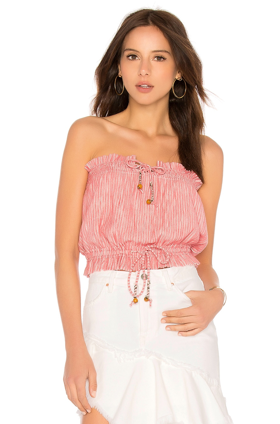 PEPPERMINT TUBE TOP