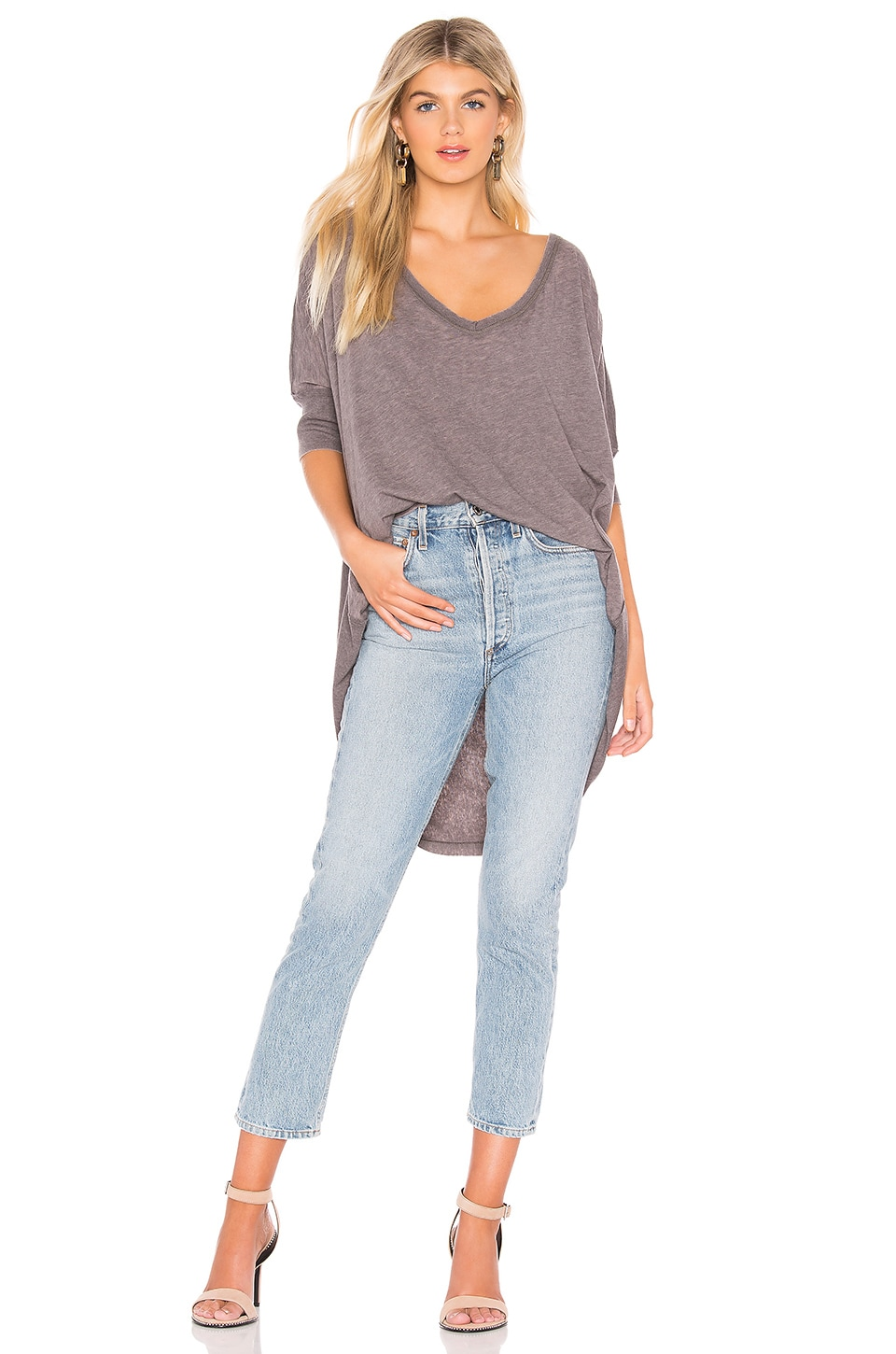 Free People Accessories Catch Waves Tee