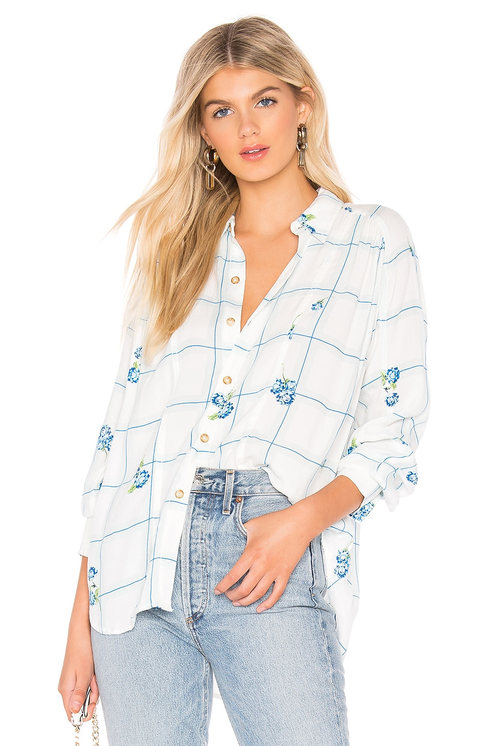 Free People CHEMISE WINDOW TO MY HEART