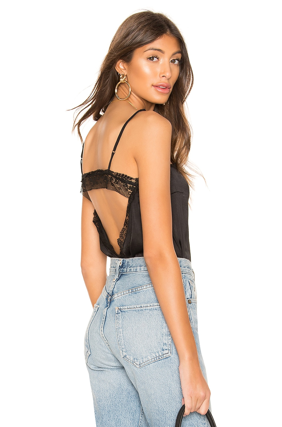 Free People Beyond Me Cami in Black