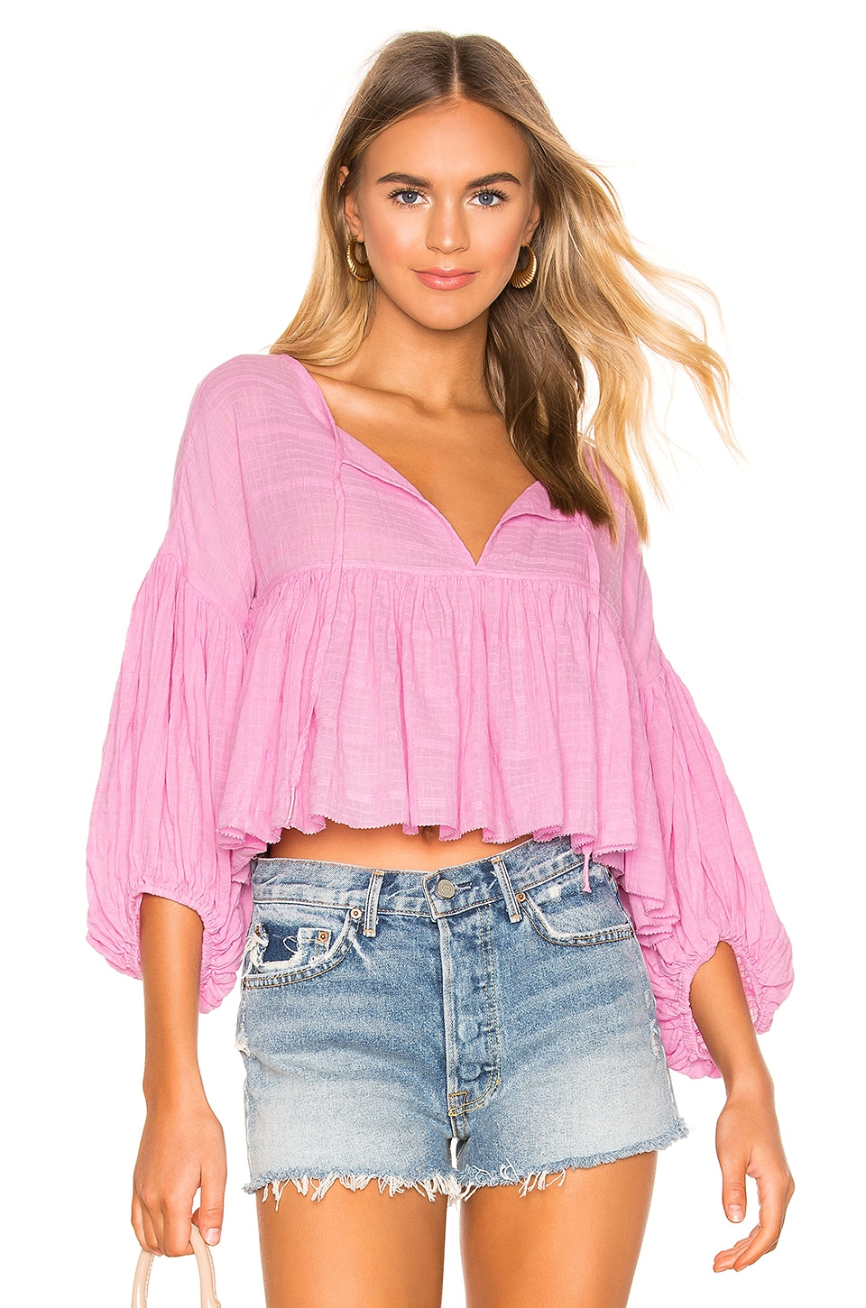 Free People Tops Beaumont Mews Blouse