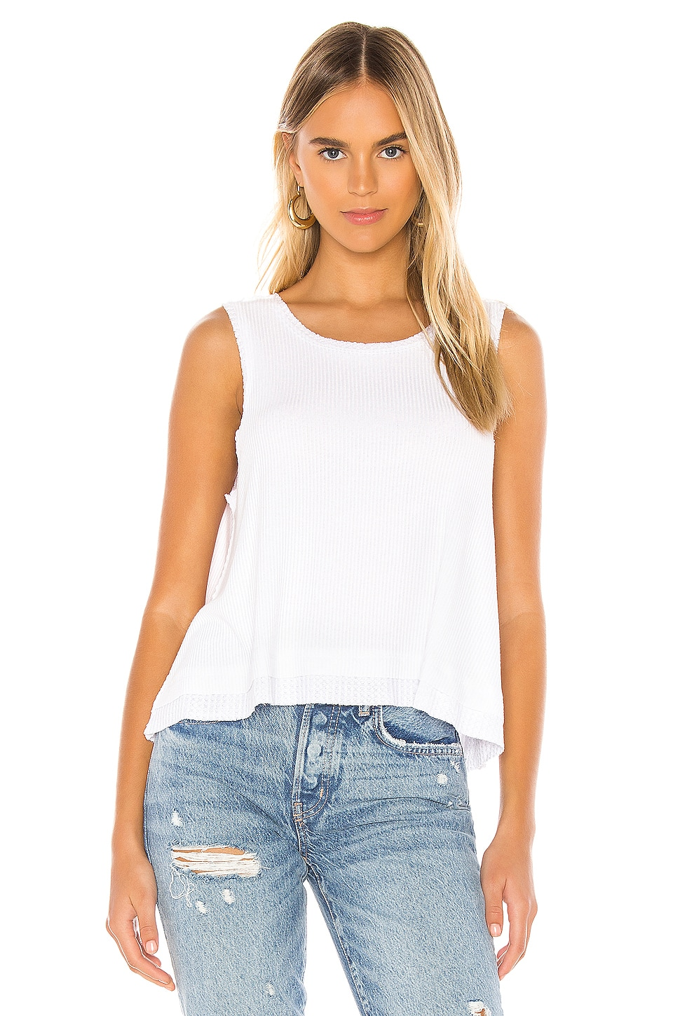Free People New Love Tank in White