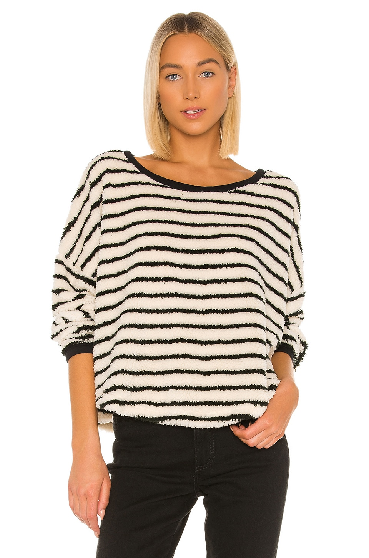 Free People Accessories Breton Striped Pullover