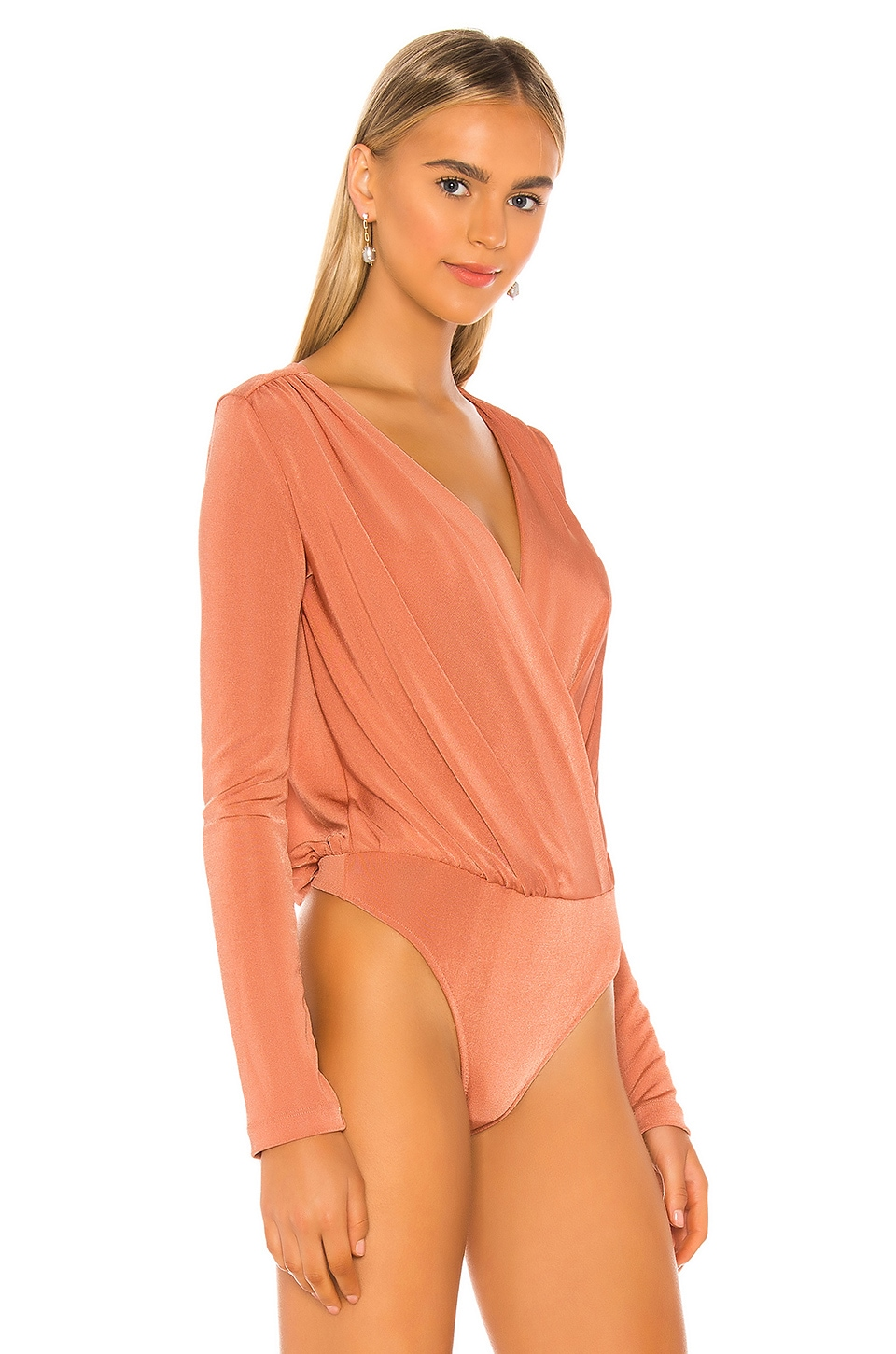 Turnt Bodysuit, view 3, click to view large image.