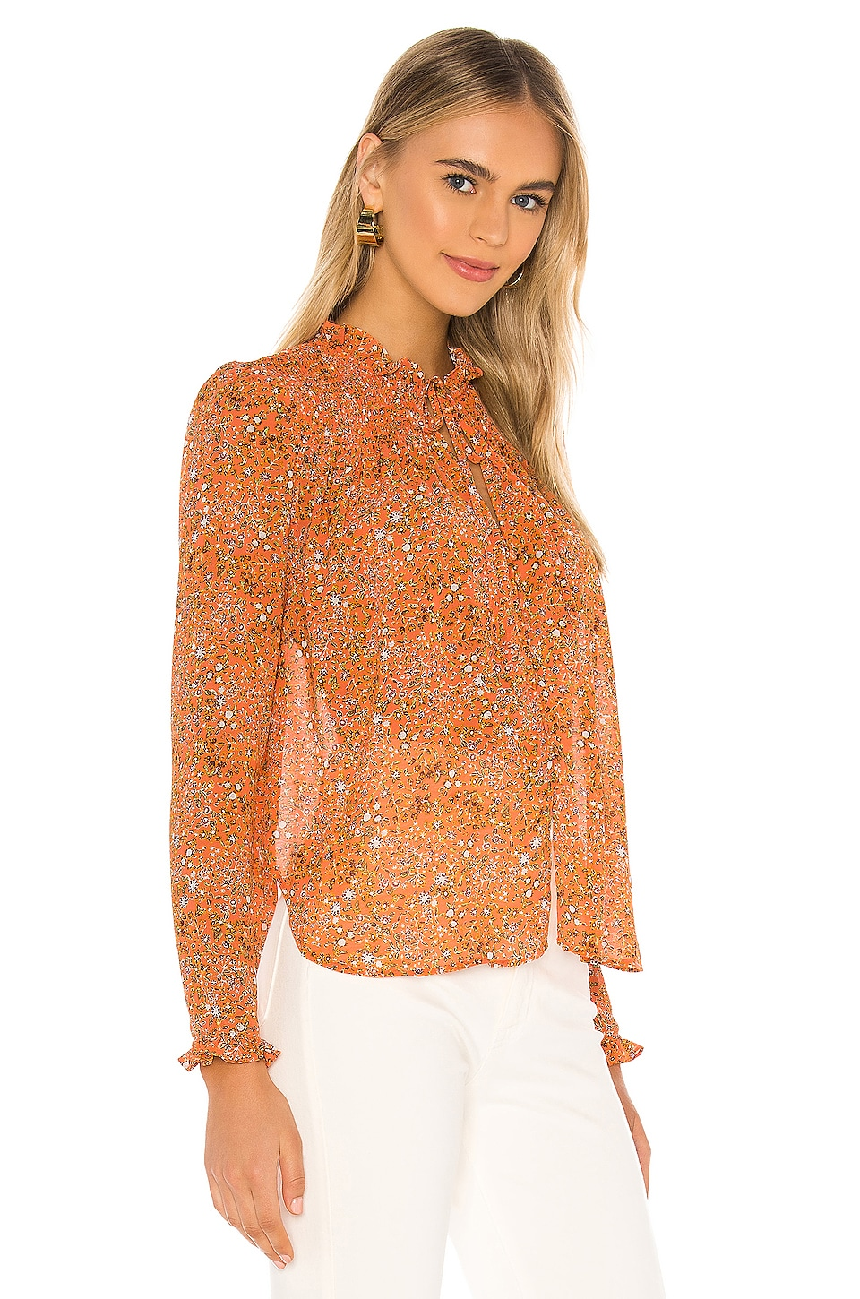 X REVOLVE Lela Blouse, view 3, click to view large image.