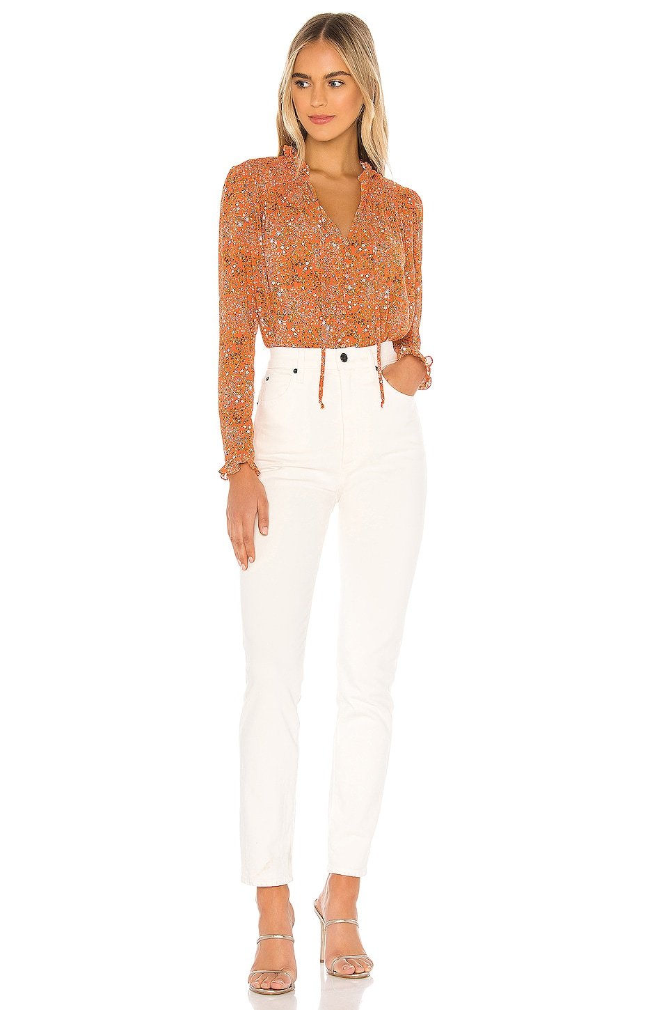 X REVOLVE Lela Blouse, view 5, click to view large image.