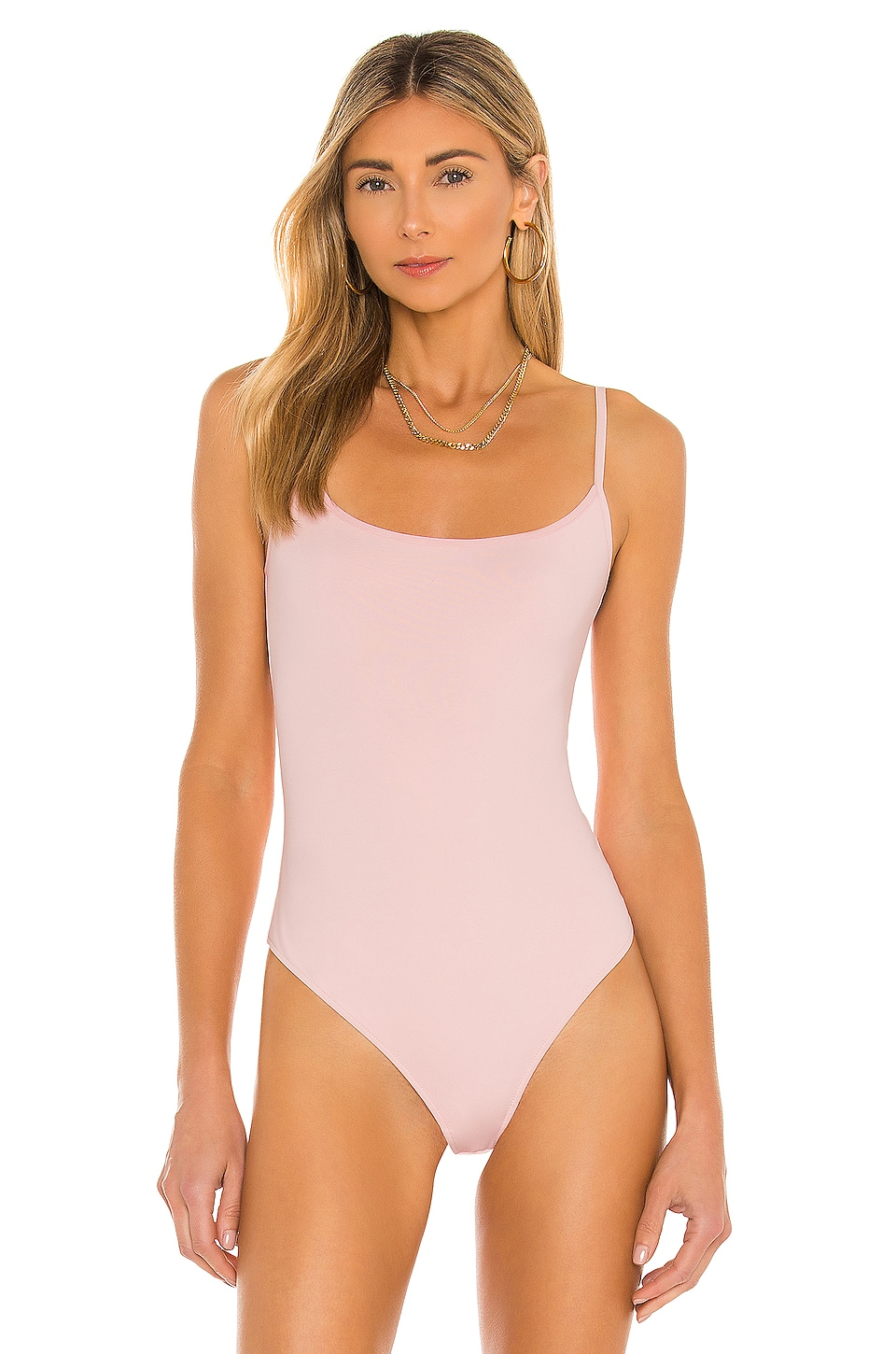Strappy Basique Bodysuit, view 2, click to view large image.