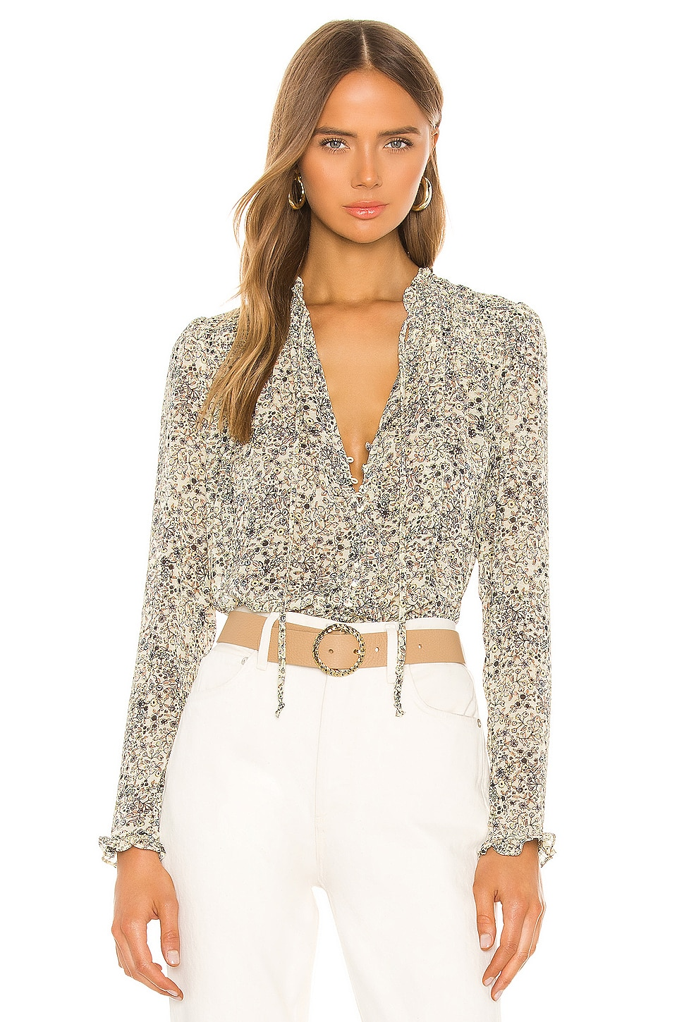 Lela Blouse                     Free People 1