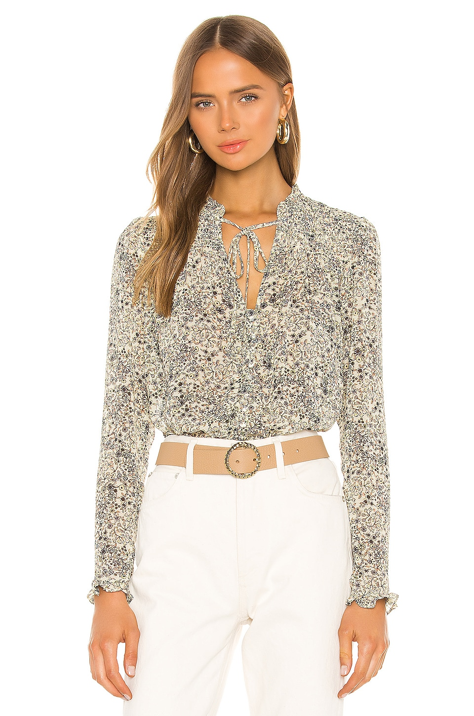 Lela Blouse, view 2, click to view large image.
