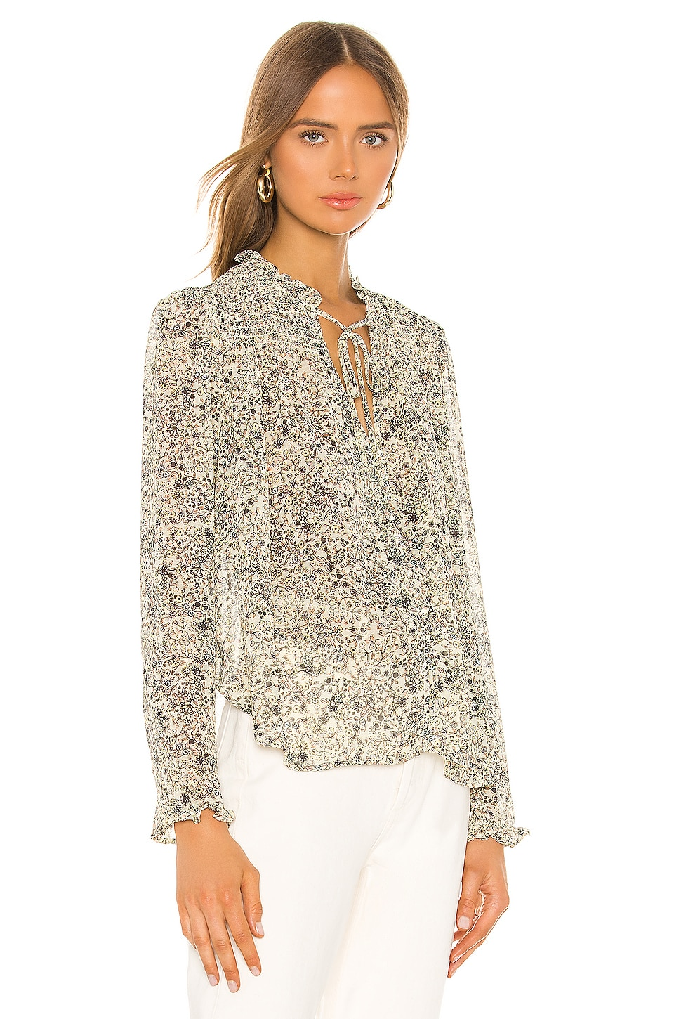 Lela Blouse, view 3, click to view large image.