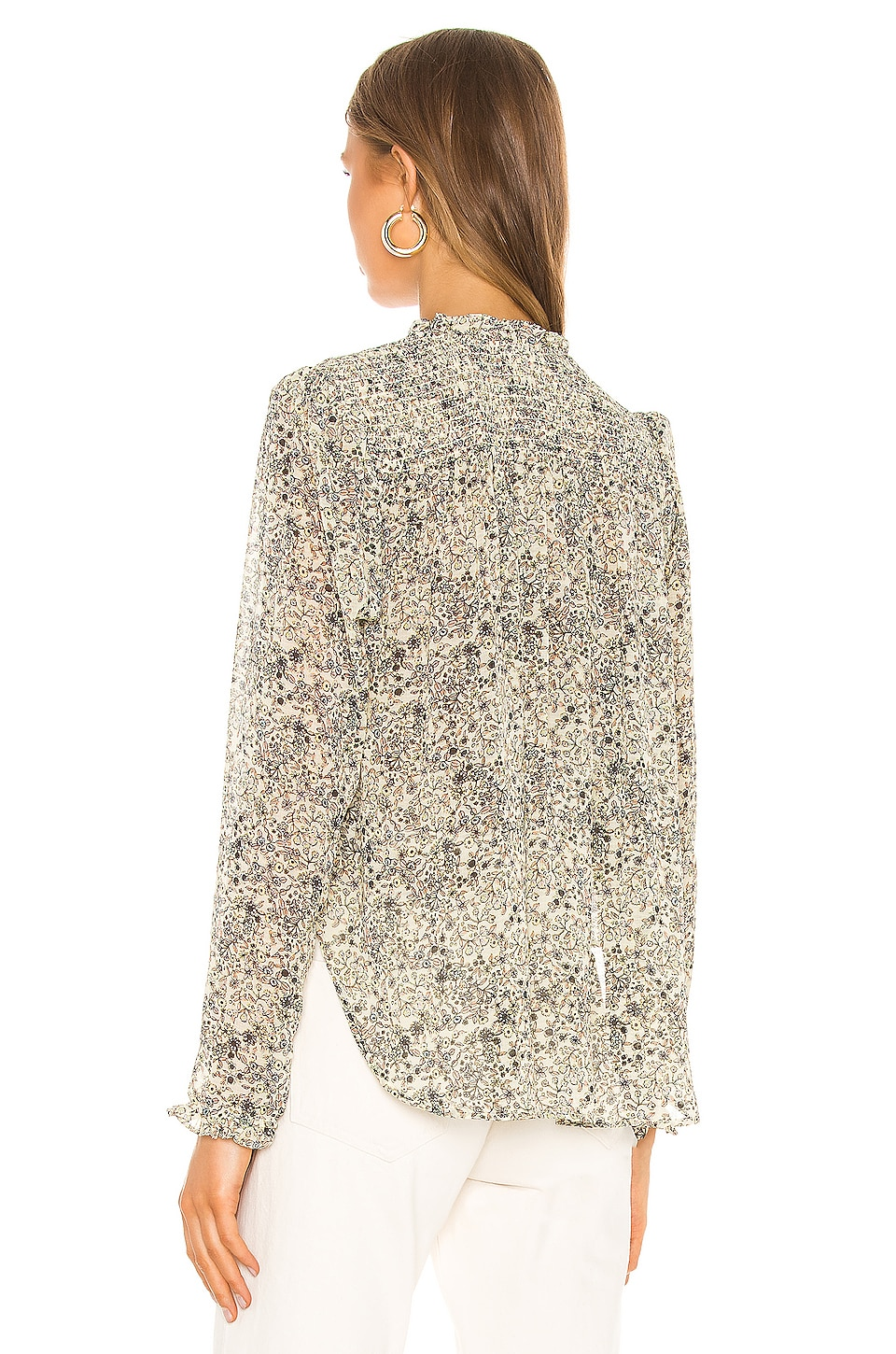 Lela Blouse, view 4, click to view large image.