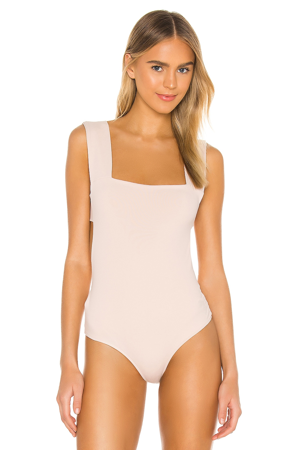Oh Shes Strappy Bodysuit, view 2, click to view large image.