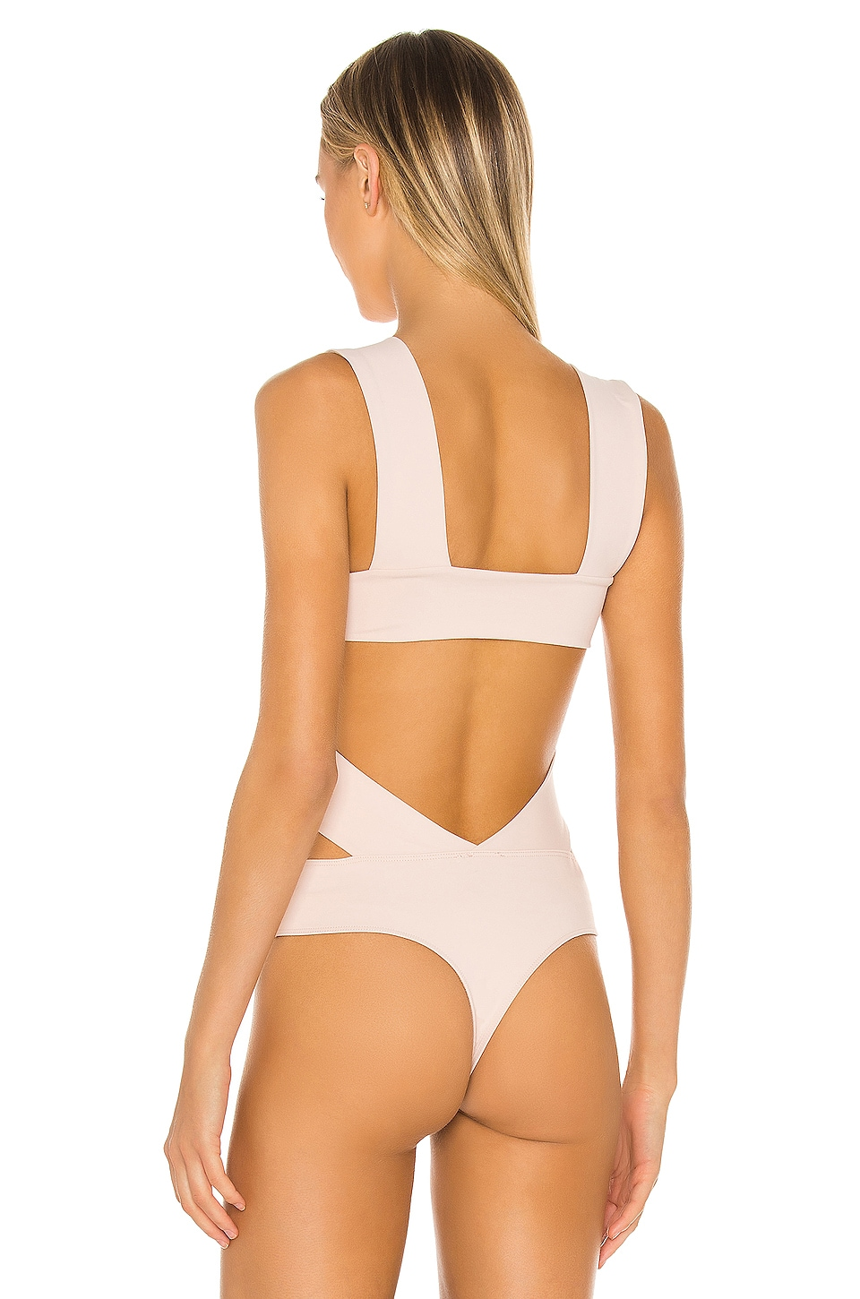 Oh Shes Strappy Bodysuit, view 4, click to view large image.