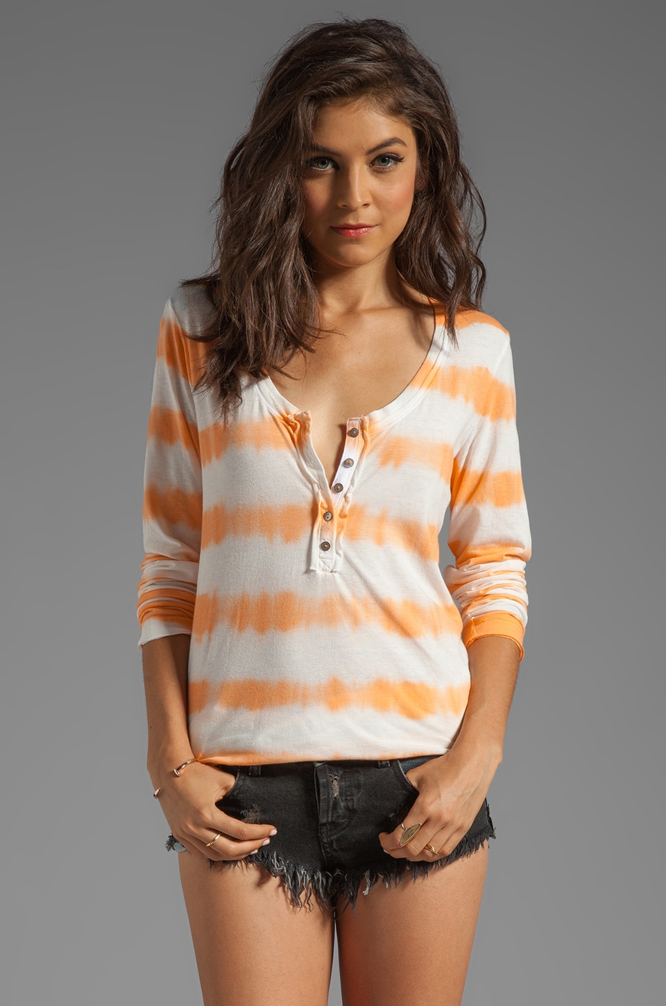 Free People Radical Tunic in Lily Combo