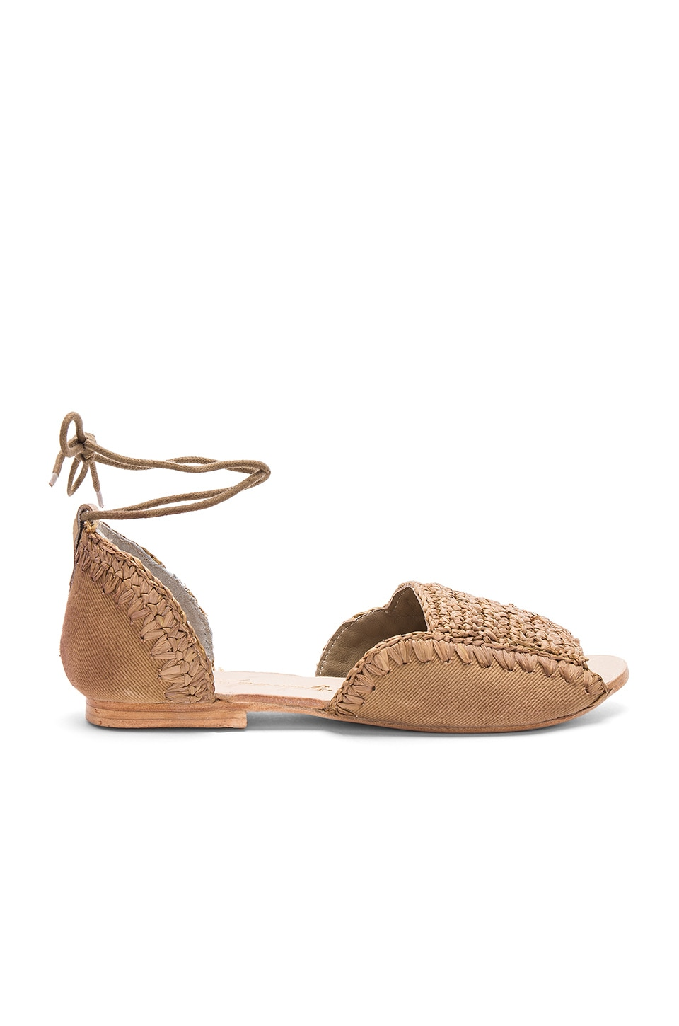 Beaumont Woven Flat by Free People