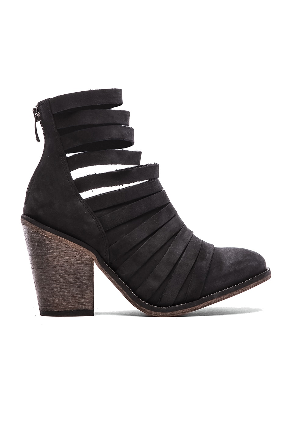 Free People Hybrid Heel Boot in Black