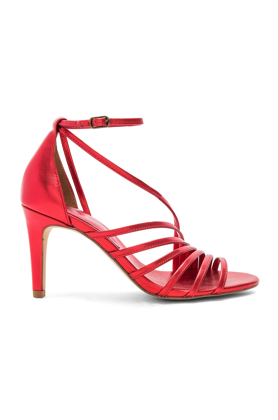 Free People Disco Fever Heel in Red