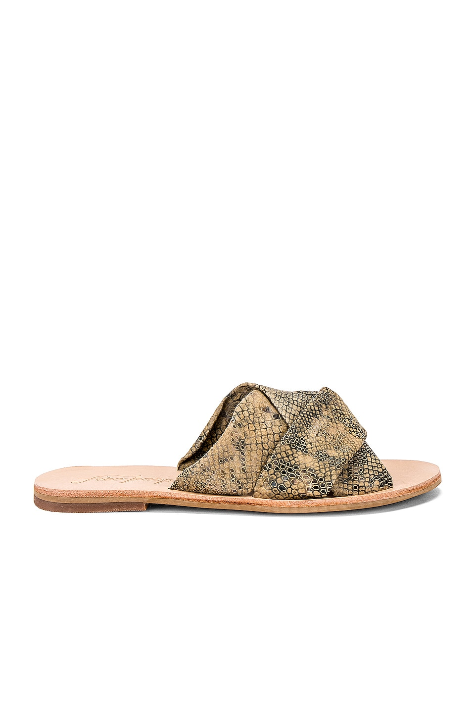 Free People Rio Vista Slide in Beige