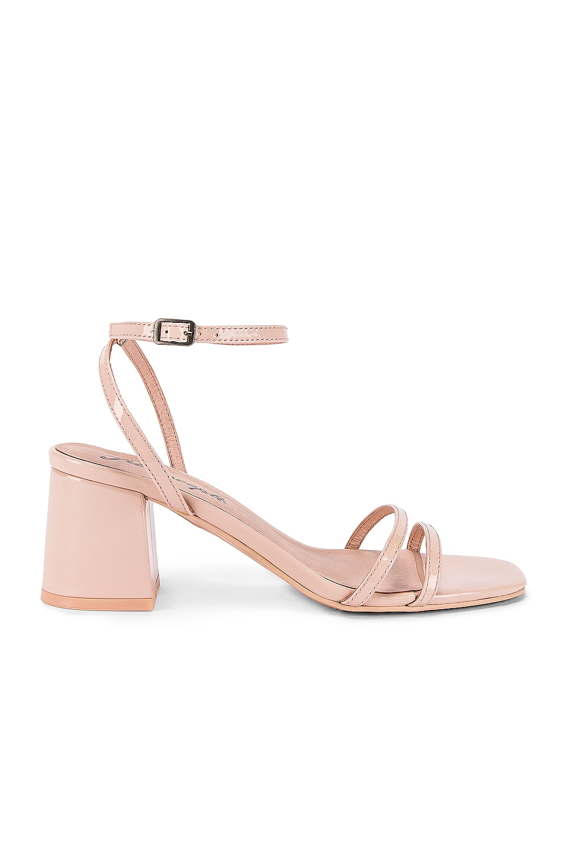 Free People Gabby Block Heel in Pink