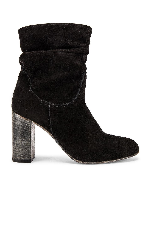 Free People Dakota Heel Boot in Black