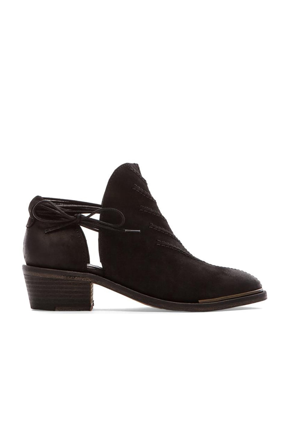 Free People Southern Cross Shoeboot in Black